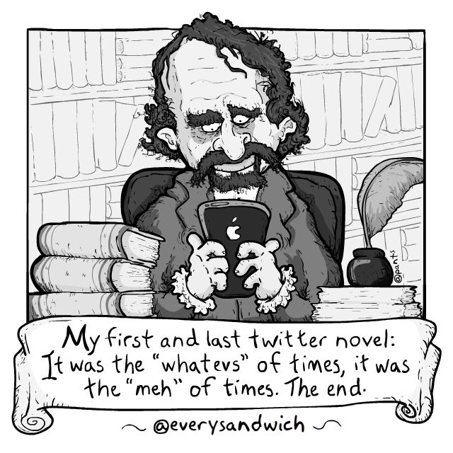 FSTwitter novel